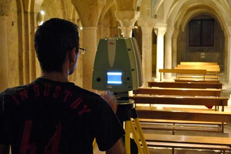 Laser scanner 3D Leica