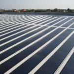 Impianto fotovoltaico come copertura di capannone agricolo